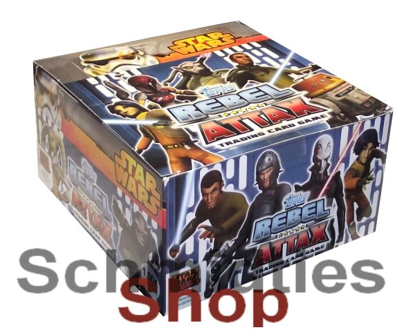 Topps Star Wars - Rebel Attax Serie 1 Display - 50x 5er-Booster