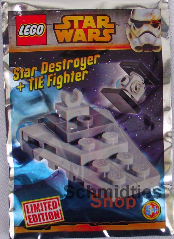 LEGO® Star Wars™ - Star Destroyer + TIE Fighter inkl. Bauplan