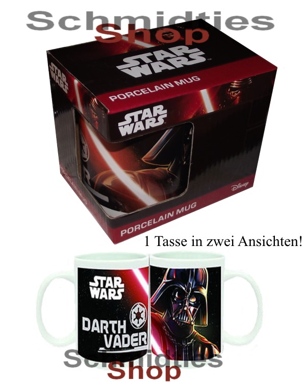 Star Wars™- DARTH VARDER™ Tasse 1 teilig Motiv 2