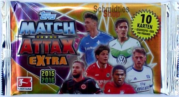 MATCH ATTAX EXTRA - 1 x DISPLAY 50 Booster - Saison 2015/16