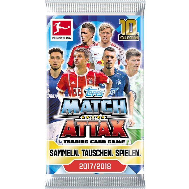 TOPPS MATCH ATTAX - 1 x DISPLAY + STARTERPACK - Saison 2017/18