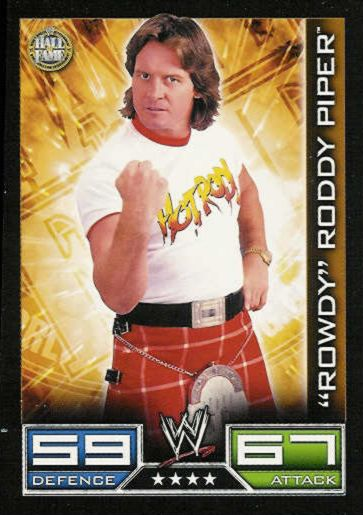 "Hall of Fame - 4 Stars - ""Rowdy"" Roddy Piper"
