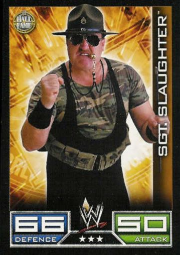 Hall of Fame - 3 Stars - Sgt. Slaughter