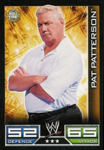 Hall of Fame - 3 Stars - Pat Patterson