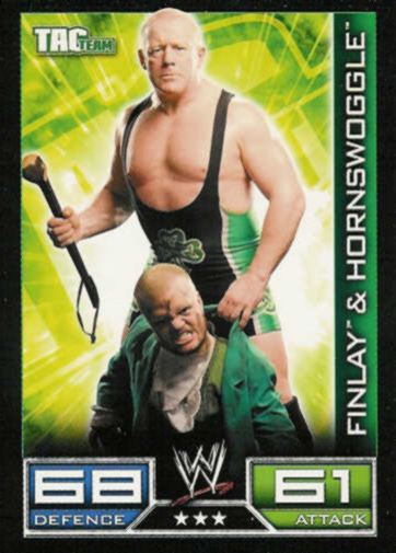 Tac Team - 3 Stars - Finlay & Hornswoggle