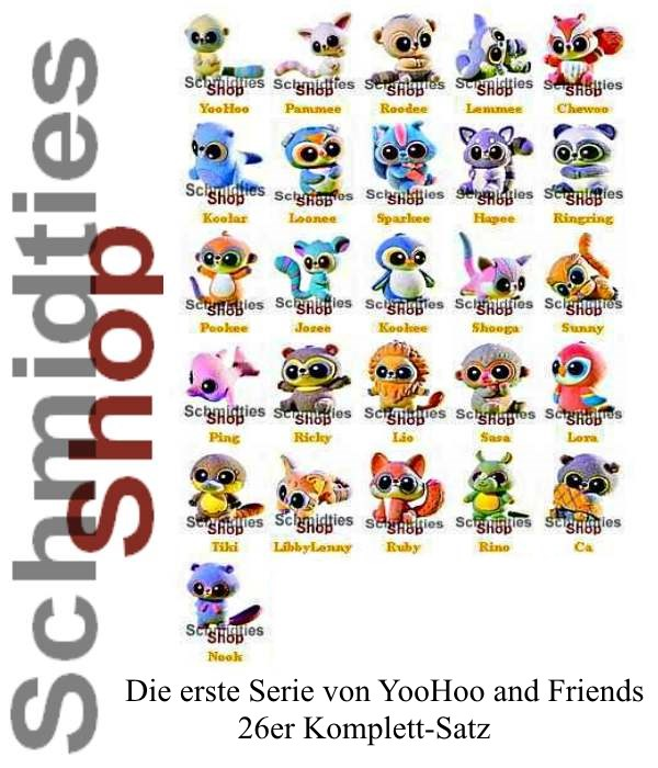 YooHoo and Friends - Serie 1 - Komplettsatz alle 26