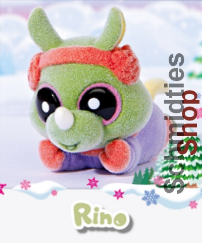 YooHoo and Friends - Snowees - Serie 1 - N°24 - Rino