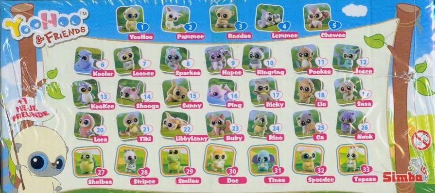 YooHoo & Friends - 52er Display